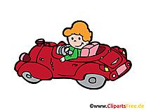 Cabriolet illustration à télécharger gratuite