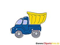Camion-déchargeur images  – Voiture clipart