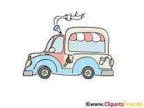 Camion de crème glacée dessin gratuit