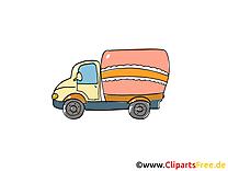 Camion dessin - Voiture cliparts à télécharger