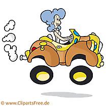 Femme au volant dessin gratuit clip arts gratuits