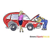 Mécanicien dessins gratuits - Voiture clipart