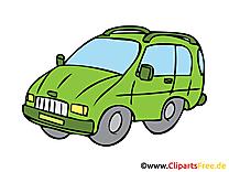 Mini-bus image à télécharger - Voiture clipart