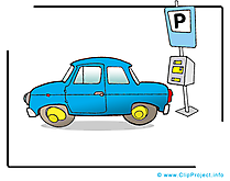 Parking carte à télécharger - Voiture image