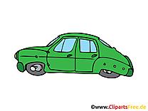 Vieille voiture clip arts gratuits illustrations