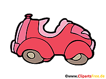 Voiture drole image gratuite illustration