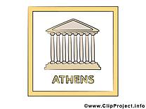 Athènes clipart gratuit - Temple images gratuites