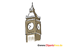 Big Ben dessin à télécharger - Londres images