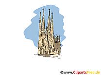 Cathédrale gothique illustration à télécharger gratuite