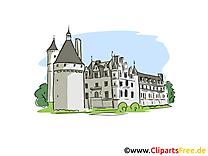 Château image à télécharger - Tours clipart