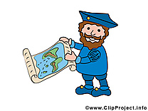 Christophe  Colomb cliparts gratuis - Carte images
