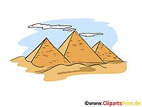 Egypte dessin à télécharger - Pyramides images