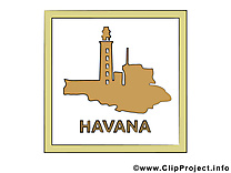 Havane illustration - Cuba images gratuites