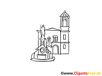 Madrid dessin - Espagne cliparts à télécharger