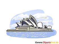 Opéra clip art gratuit - Sydney dessin