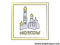 Russia illustration gratuite - Moscou clipart