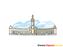 Saint-pétersbourg carte à télécharger - Russie image