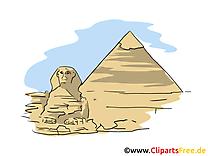 Sphinx image gratuite - Pyramide cliparts