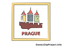 Tchéquie image à télécharger - Prague clipart