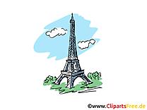 Tour eiffel dessin gratuit à télécharger