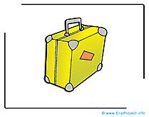 Valise dessin gratuit - Voyage image gratuite