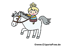 Cheval images gratuites – Animal clipart