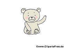 Dessin gratuit ours – Animal image