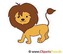 Lion image gratuite – Animal cliparts