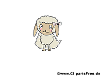 Mouton images gratuites – Animal clipart