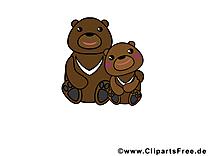 Ours dessin – Animal clip arts gratuits