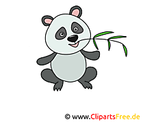 Panda clip arts gratuits – Animal illustrations
