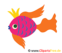 Poisson clip arts gratuits – Animal illustrations