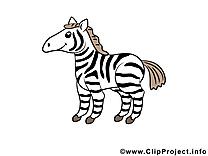 Zèbre animal image à télécharger gratuite